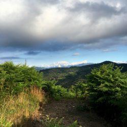 Monte Rosa von den Tre Montagnette