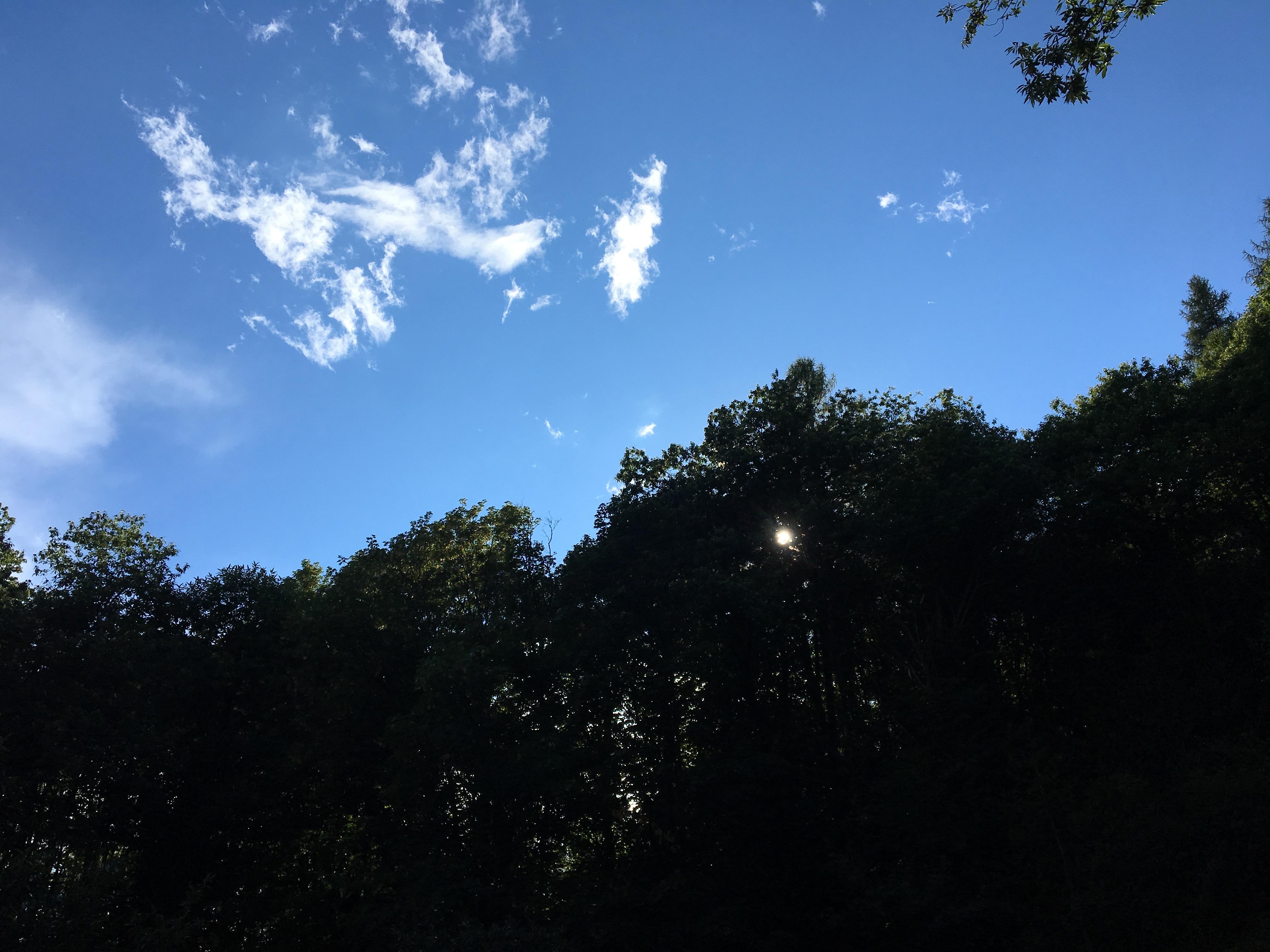 ... und der Himmel ist blau