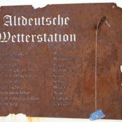 Altdeutsche Wetterstation